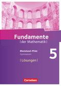 Fundamente der Mathematik, Gymnasium Rheinland-Pfalz: 5. Schuljahr, Lösungen zum Schülerbuch