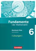 Fundamente der Mathematik, Gymnasium Rheinland-Pfalz: 6. Schuljahr, Lösungen zum Schülerbuch