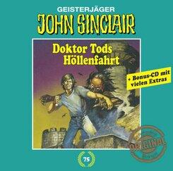 John Sinclair Tonstudio Braun - Doktor Tods Höllenfahrt, 2 Audio-CDs