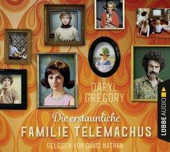 Die erstaunliche Familie Telemachus, 8 Audio-CDs