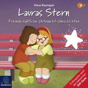 Lauras Stern - Freundschaftliche Gutenacht-Geschichten, 1 Audio-CD