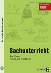 Sachunterricht - 3./4. Kl., Technik & Arbeitswelt, m. 1 CD-ROM