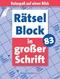 Rätselblock in großer Schrift - Bd.83