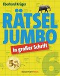 Rätseljumbo in großer Schrift - Bd.6