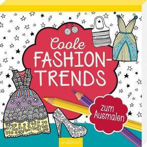 Coole Fashion-Trends zum Ausmalen