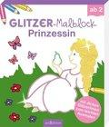 Glitzer-Malblock Prinzessin