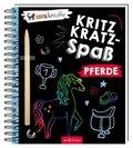 Kritzkratz-Spaß Pferde, m. Stift