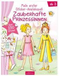 Mein erster Sticker-Anziehspaß - Zauberhafte Prinzessinnen