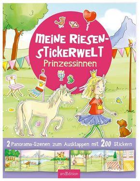 Meine Riesen-Stickerwelt Prinzessinnen