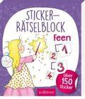Sticker-Rätselblock Feen