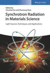 Synchrotron Radiation in Materials Science, 2 Vols.
