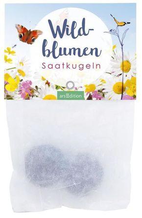 Saatkugeln für Wildblumen