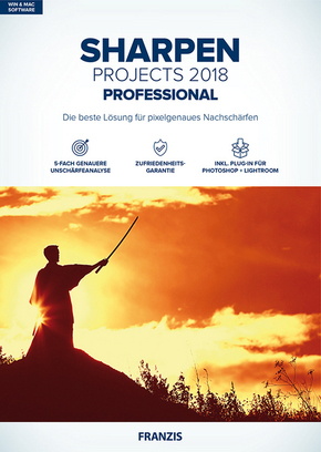 Sharpen projects professional 2018, 1 CD-ROM