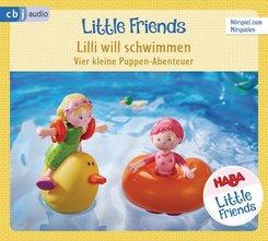 HABA Little Friends - Lilli will schwimmen, 1 Audio-CD