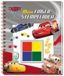 Disney Pixar Cars 3 Evolution - Mein Fingerstempelbuch