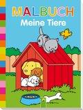 Malbuch Meine Tiere