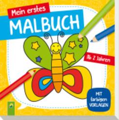 Mein erstes Malbuch (Schmetterling)