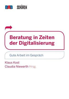 Beratung in Zeiten der Digitalisierung