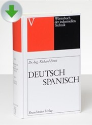 Wörterbuch der industriellen Technik, CD-ROM: Deutsch-Spanisch/Spanisch-Deutsch