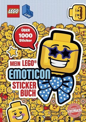 LEGO® Life - Mein LEGO® Emoticon-Stickerbuch
