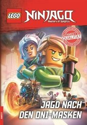 LEGO® NINJAGO™ - Jagd nach den Oni-Masken, Lesebuch