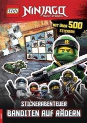 LEGO® NINJAGO™ - Stickerabenteuer - Banditen auf Rädern