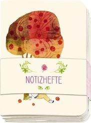 Notizhefte - Kinder Motive, Wir feiern durch das ganze Jahr (3 Notizhefte im Set)