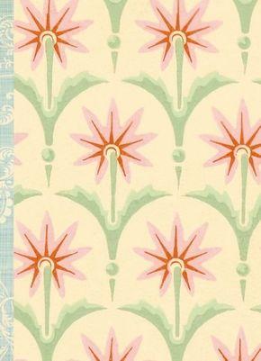 Gefährlich schön Notizbuch groß - Motiv Sternblume