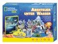 Abenteuer unter Wasser (3D Puzzle mit Box inkl. Buch) - National Geographic Kids