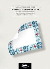European Tiles - Labels, Stickers & Tape