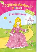 Glitzerzauber-Malblock Prinzessinnen