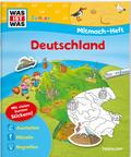Deutschland, Mitmach-Heft - Was ist was junior Mitmachheft
