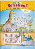 Bunter Rätselspaß: Zoo