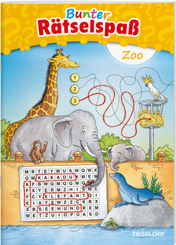 Bunter Rätselspaß Zoo