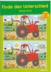 Finde den Unterschied Bauernhof