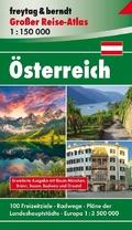 Freytag & Berndt Großer Reise-Atlas Österreich