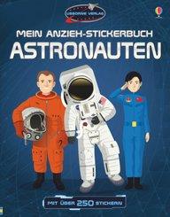 Mein Anzieh-Stickerbuch: Astronauten