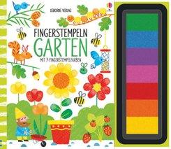 Fingerstempeln - Garten