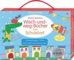 Meine liebsten Wisch-und-weg-Bücher zum Schulstart, 4 Bde.