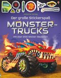 Der große Stickerspaß -  Monstertrucks