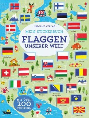 Mein Stickerbuch - Flaggen unserer Welt