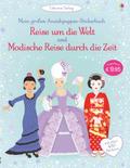 Mein großes Anziehpuppen-Stickerbuch - Reise um die Welt und Modische Reise durch die Zeit