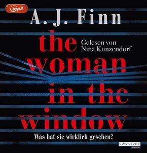 The Woman in the Window - Was hat sie wirklich gesehen?, 2 MP3-CDs