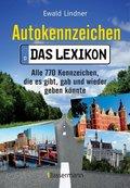 Autokennzeichen - Das Lexikon