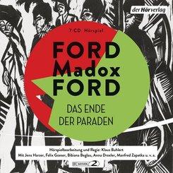Das Ende der Paraden, 7 Audio-CDs