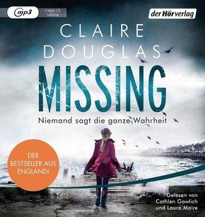 Missing - Niemand sagt die ganze Wahrheit, 1 MP3-CD
