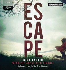ESCAPE - Wenn die Angst dich einholt, 1 MP3-CD