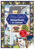 Mein Glitzerstickerbuch im Advent