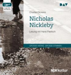 Nicholas Nickleby, 2 MP3-CDs
