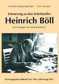 Erinnerung an den Schriftsteller Heinrich Böll